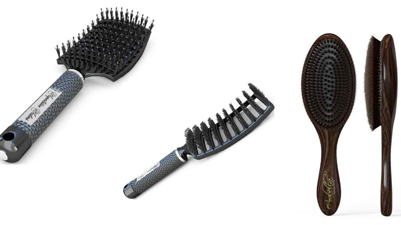 hair brushes thin