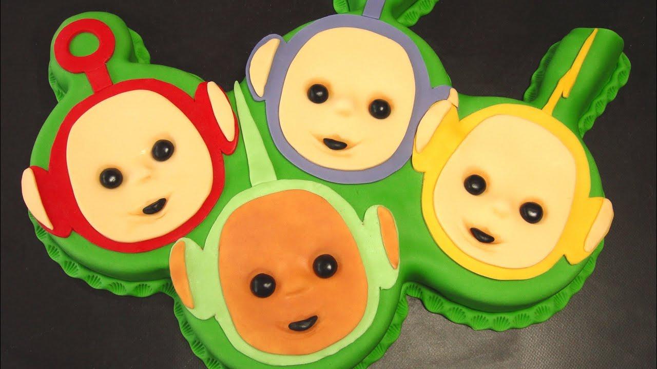Teletubbies Cake - How To Tutorial / Dort Teletubbies ...