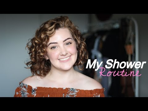 My Shower Routine for My Wavy/Curly Hair//Gillian McLellan
