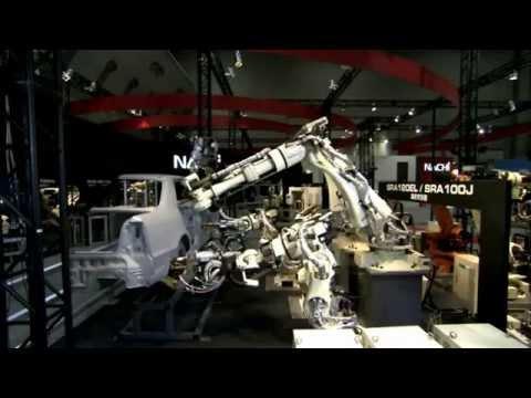 Aplicatie industia auto roboti industriali NACHI SRA