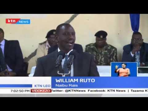 Rais Uhuru Kenyatta na William Ruto wawataka watahiniwa wa KCPE kuonesha ukakamavu