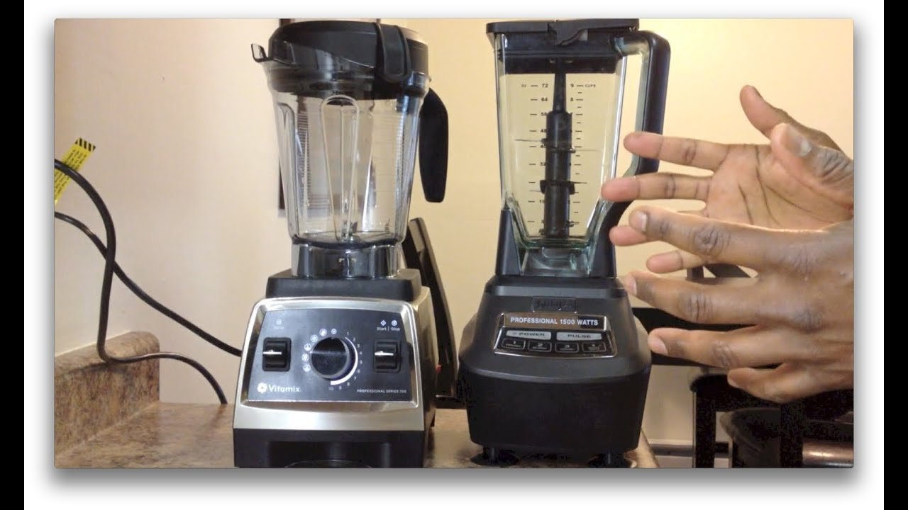 Ninja Mega Kitchen System 1500 Vs Vitamix 750 Showdown Youtube