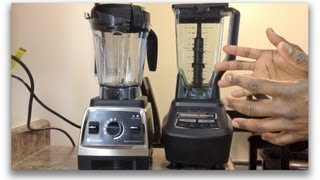 Ninja Mega Kitchen System 1500 Vs. Vitamix (750), Showdown!