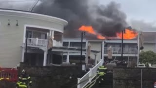 Five-alarm Fire Damages Cape Cod Hotel Ahead Of Busy Summer Season