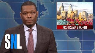 Weekend Update on Pro-Trump Graffiti Artist's Arrest - SNL
