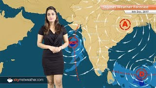 Weather Forecast for Dec 4: Well marked low in Bay to intensify in Depression, Chennai to be dry