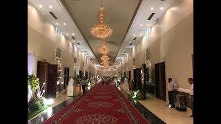 Kiến trúc Hành lang nhà hàng tiệc cưới cao cấp - Kho Tư liệu Xây dựng