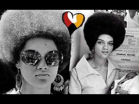 Kathleen Cleaver and Natural Hair, Black IS BeautiFul. Black Panther Party, 1968