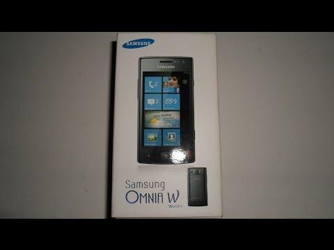 Samsung Omnia W -Windows Phone 7.8- Vorstellung