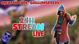 🔥24H Stream | ⚡️Fortnite Skin VERLOSUNG | 💪PART 3 | 🌿Daily Shop! | Justin