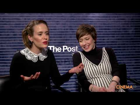 Sarah Paulson & Carrie Coon  for