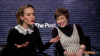 Sarah Paulson & Carrie Coon Interview for