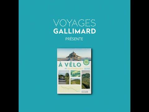 Voyages Gallimard -  À vélo. 50 itinéraires pour pédaler le nez au vent