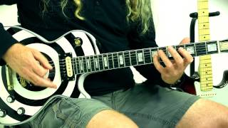Learn Drop C 3 Octave Minor Scale Electric Guitar Lessons