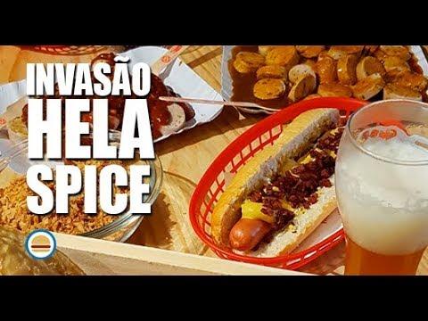 Invasão Hela Spice Brasil  Hambúrguer Perfeito