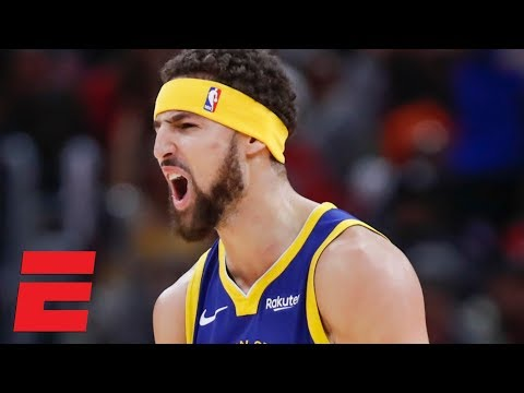 Klay Thompson sets NBA record for most 3s in a game (14), drops 52 vs Bulls | NBA Highlights