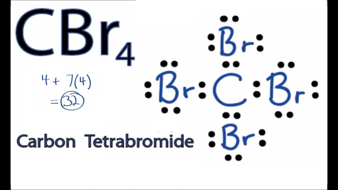 Cbr4 Lewis Structure How To Draw The Lewis Structure For