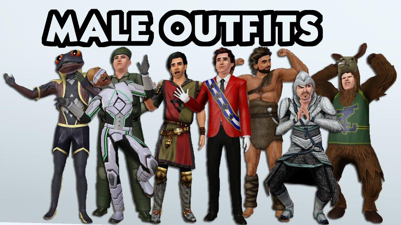 Men Sims  Clothes