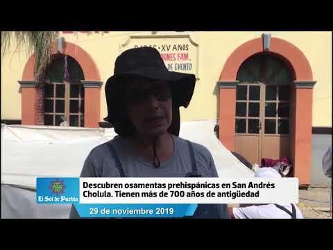 Descubren Osamentas Prehispánicas En San Andrés Cholula. Tienen Más De 700 Años De Antigüedad