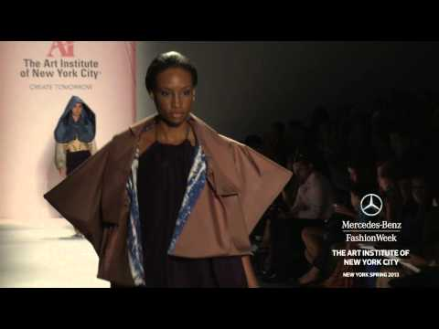 THE ART INSTITUTE OF NEW YORK CITY HIGHLIGHTS - MERCEDES-BENZ FASHION WEEK SPRING 2013 COLLECTIONS