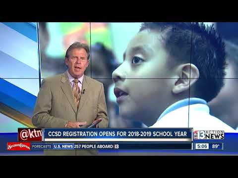 Registration open for the Clark County School District