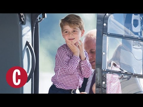 Prince George's Cutest Moments  Cosmopolitan