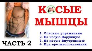 Косые мышцы - редкие упражнения  (Биомеханика)