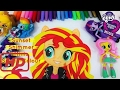 MLP Equestria Girls Minis Sunset Shimmer doll Speed-Color! Draw, Coloring Art My Little Pony   #EMK