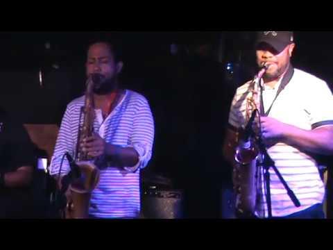 Jammin AT CAFEWA - (Mike Burton) (Mario Castro)(Arty White) (Mark Bell drummer)