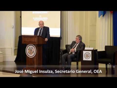 """""""La OEA y el Derecho Internacional"""" (José Miguel Insulza)"""