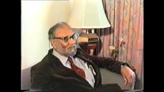 Conversation of Dr. Abdus Salam, a Noble Laureate in Physics, with Akhtar Said - Part 1