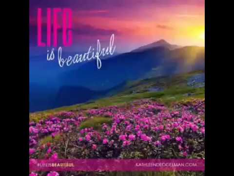 Good Morning Message Life Is Beautiful Youtube