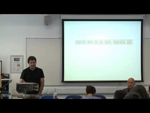 """Edhem Eldem (Boğaziçi University): """"Levantine Cosmopolitanism, Myth and Reality"""""""