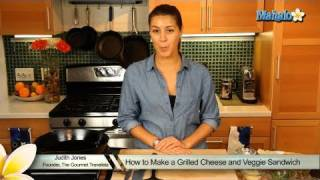 How To Make A Grilled Cheese And Veggie Sandwich