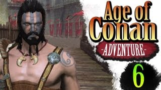 Age of Conan Unchained Gameplay - Dragon Spine Questing - Bearshaman