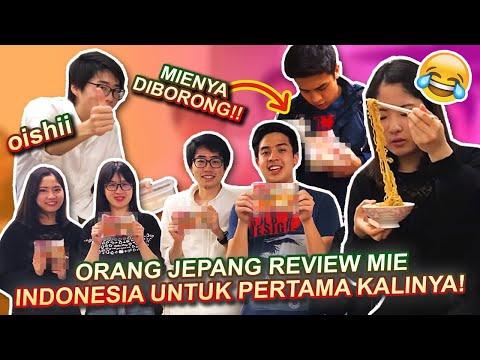REAKSI ORANG JEPANG MAKAN MIE GORENG INDONESIA!