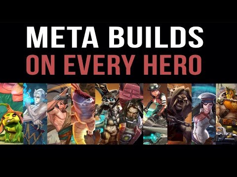 META BUILDS ON EVERY HERO | VAINGLORY MOST RECENT UPDATE!