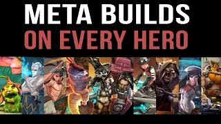 META BUILDS ON EVERY HERO | VAINGLORY UPDATE 2.8