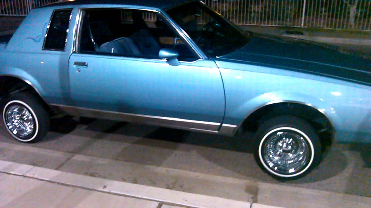 1986 Buick Regal >> My dads 86 Buick regal limited lowrider part2 - YouTube