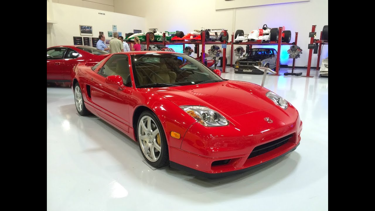 2004 acura nsx at american honda museum. Black Bedroom Furniture Sets. Home Design Ideas