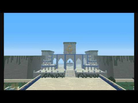 Minecraft -Timelapse- Gardens of Babylon