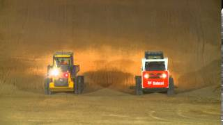 John Deere skid steer vs Bobcat skid steer HP management