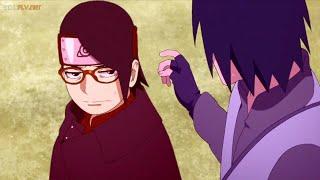 Sasuke Hace El Ridículo Con Sarada, Naruto Y Sasuke Pasan El Día Junto A Sus Hijas [60FPS]
