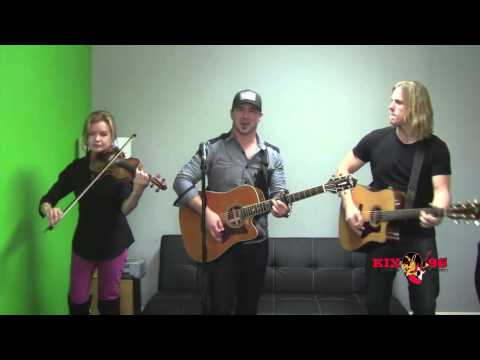 "KIX96 Live Performance Weston Burt ""Lucky Sometimes"""