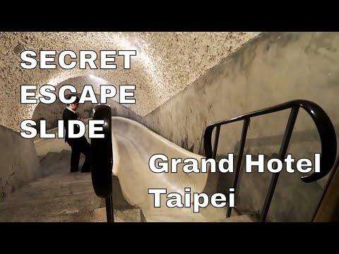 The Grand Hotel Taipei Super Secret Escape Slide