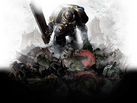 Заставка начала игры Warhammer 40000: Space Marine в HD
