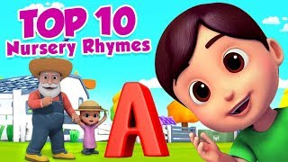 Top 10 Nursery Rhymes | Five Little Babies | Rock a Bye Baby | No No song from boom buddies
