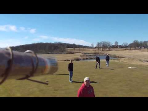 Golf course offers drone cigar delivery. *Right to your Hole*