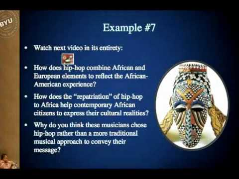 MUSIC 102 ONLINE   Module 7 2 3   Core Traits of African Drumming ans Singing