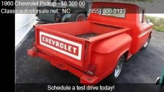 1960 Chevrolet Pickup  for sale in Nationwide, NC 27603 at C #VNclassics